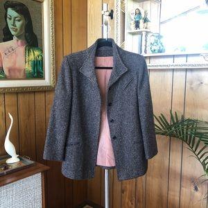 Gorgeous Vintage Structured Tweed Blazer
